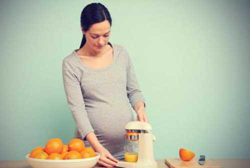 Апельсины при беременности