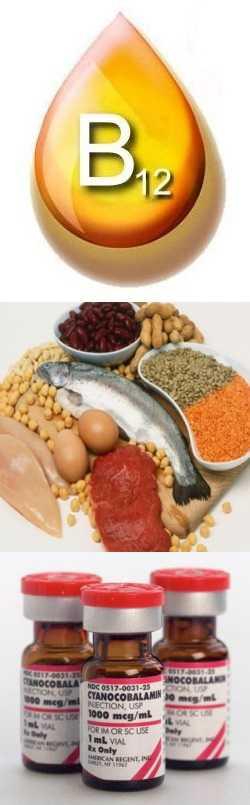 Зачем нужен  витамин  В12: признаки дефицита,